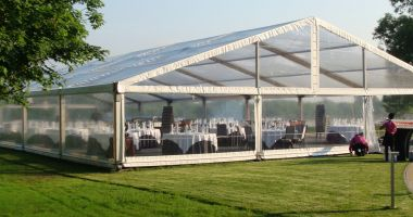 Transparent marquees